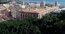 """Panoramic view of """"Palazzo Valdes"""""""